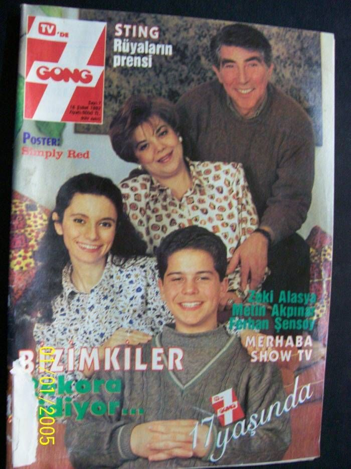 """Ours"" the best Turkish Tv Show in 80's 90's Bizimkiler Dizisi"