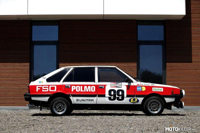 Polonez FSO rally
