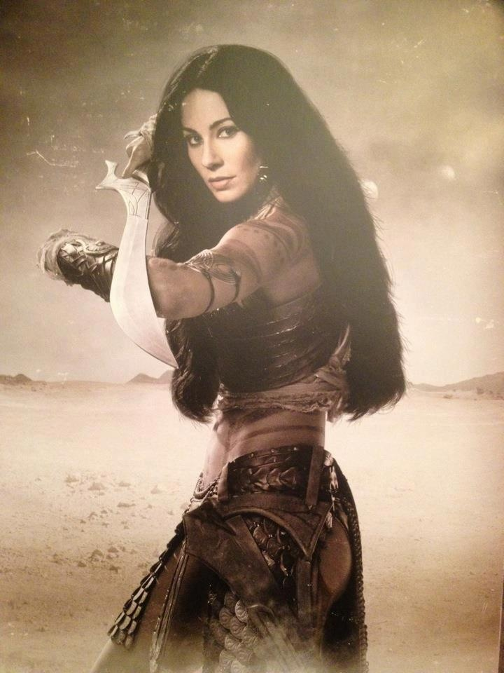 "Image from the French Pressbook of the film ""John Carter."""