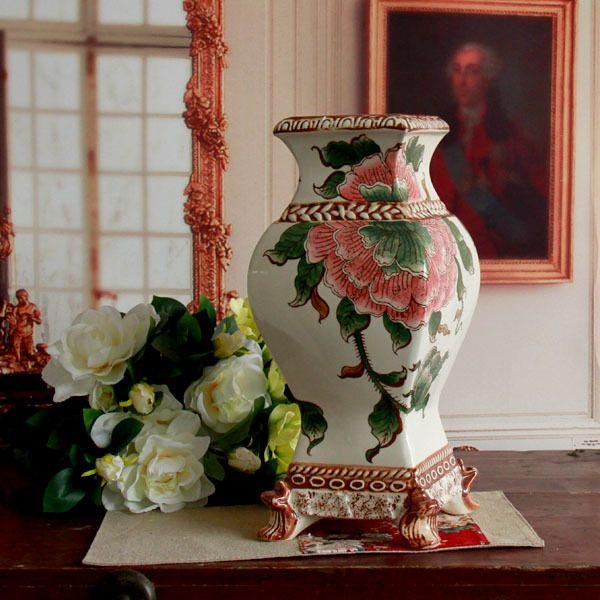 vintage peones keramische vierkante tank keramische decoratie keramische vaas home vintage