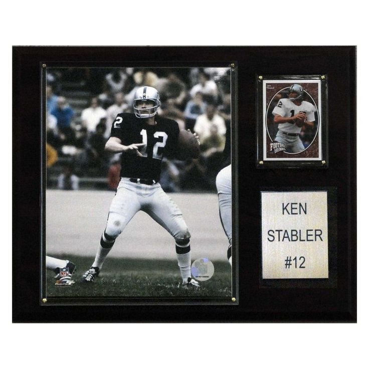 NFL 12 x 15 in. Ken Stabler Oakland Raiders Player Plaque - 1215STABLER