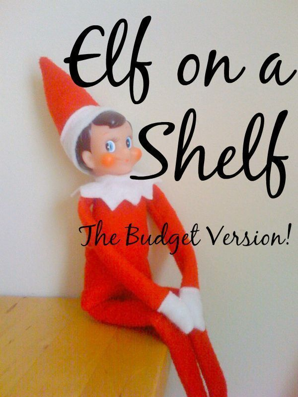 Do you want to make Christmas even more magical for your children? Elf on a Shelf is a great way to do this, and if you don't want to spend a fortune then this budget version is just what you need!