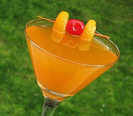 Tangerine Sunrise  (2 oz. Grey Goose L'Orange Vodka or any citrus Vodka 1 oz. Tangerine Schnapps or Triple Sec  3 oz. Ocean Spray Citrus-Tangerine-Orange Juice 1 oz. Sunkist Orange Soda Any Citrus and/or Cherry for garnish)
