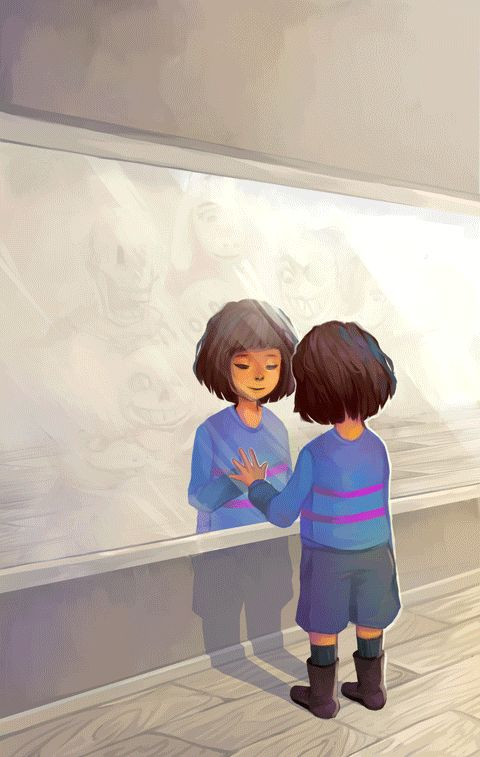 [Undertale} Still just you. by ChromaticSkies