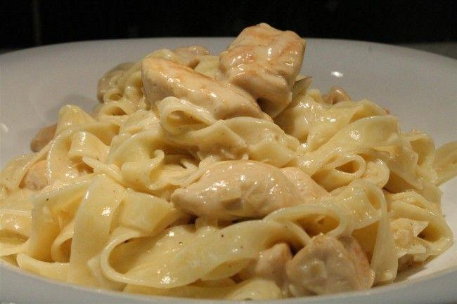 Chicken alfredo - csirkemell recept