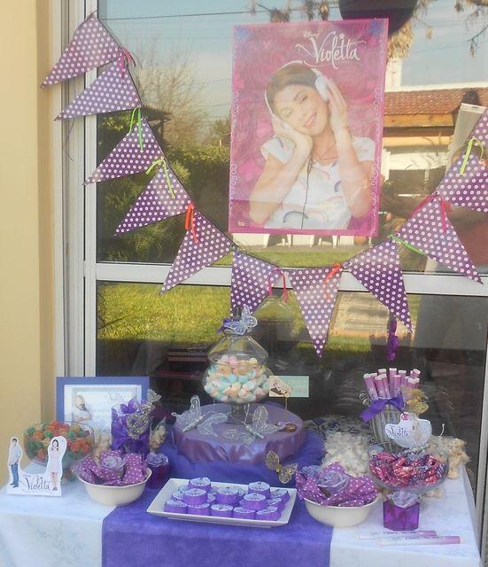 Photo 2 of 8: Violetta de Disney / Birthday cumpleaños de Chiara   Catch My Party