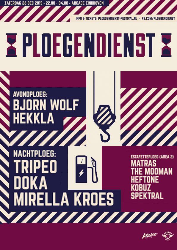 SA DEC 26TH 2015 | PLOEGENDIENST Eindhoven | ARCADE | www.ploegendienst-festival.nl