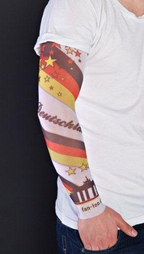 """Tolle Fanartikel zur Weltmeisterschaft, wie """"fan-too Überziehstrumpf Tattoo Deutschland-Skyline Weiss - Fanartikel EM 2012 Fußball Europameisterschaft D-Fahne, Olympische Sommerspiele, Leichtathletik, WM, Olympia, Handball, Olympiade"""" hier anschauen: http://fussball-fanartikel.einfach-kaufen.net/schminke-skins/fan-too-ueberziehstrumpf-tattoo-deutschland-skyline-weiss-fanartikel-em-2012-fussball-europameisterschaft-d-fahne-olympische-sommerspiele-leichtathletik-wm-olympia-ha"""