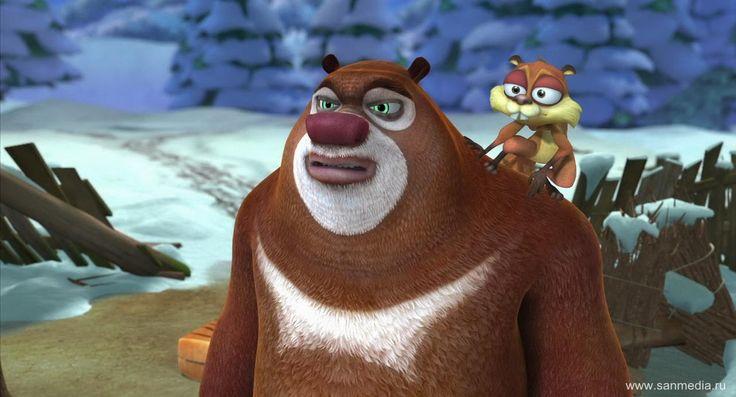 Мультфильм Медведи-соседи. Зимние каникулы