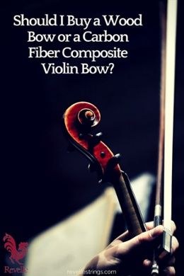 Decisions, decisions: Should I buy a wood bow or a carbon fiber composite violin bow?  http://www.connollymusic.com/revelle/blog/should-i-buy-a-wood-bow-or-a-carbon-fiber-composite-violin-bow @revellestrings
