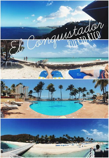 El Conquistador Resort Review || A Waldorf Astoria Resort in Fajardo, Puerto Rico. Outside of San Juan, luxuriously settled on top of a cliff that overlooks the Atlantic Ocean and the Caribbean Sea. Boasting over 100,000 sq. ft., El Conquistador features a private island and beach - Palomino Island, a renowned spa, seven pools, 23 restaurants, a water park, and an award-winning golf course. Let my start off by saying that the 360 degree views of elevation change truly made this resort…