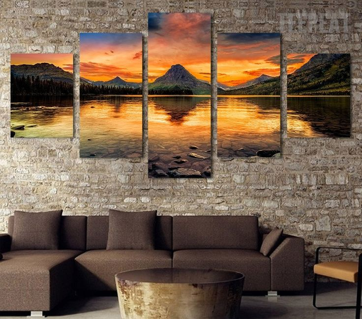 Best Nature Art Decor Images On Pinterest Painting Canvas - Wall decor canvas