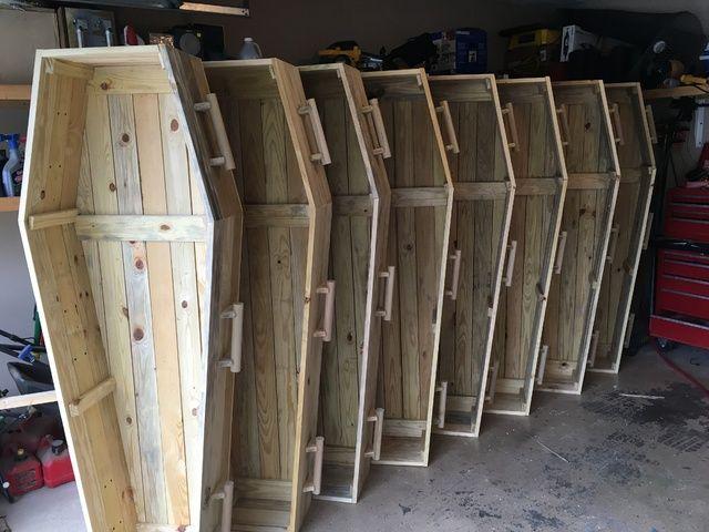 Coffin Plans By Jasonb5449 On Halloween Forum Halloween