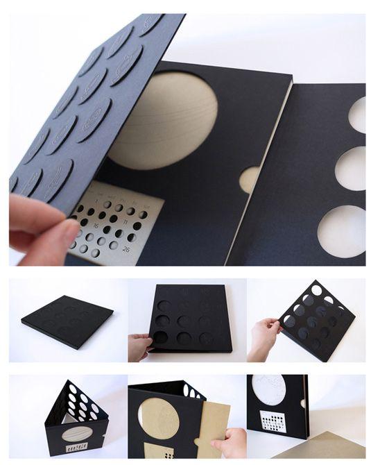40+ Most Creative 2013 Calendar Design | 1 Design Per Day