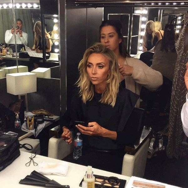 "Giuliana Rancic from SAG Awards 2017: Instagrams & Twitpics ""Beachy hair vibes for today's #sagawards red carpet See you soon on E!"""