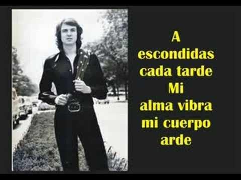 Camilo sesto. a escondidas... for you