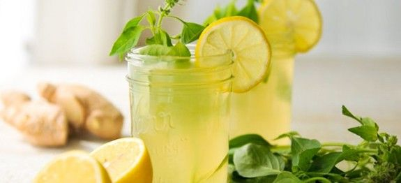 Gyömbéres-citromos frissítő