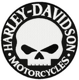 Harley Davidson Logo Machine Embroidery Designs