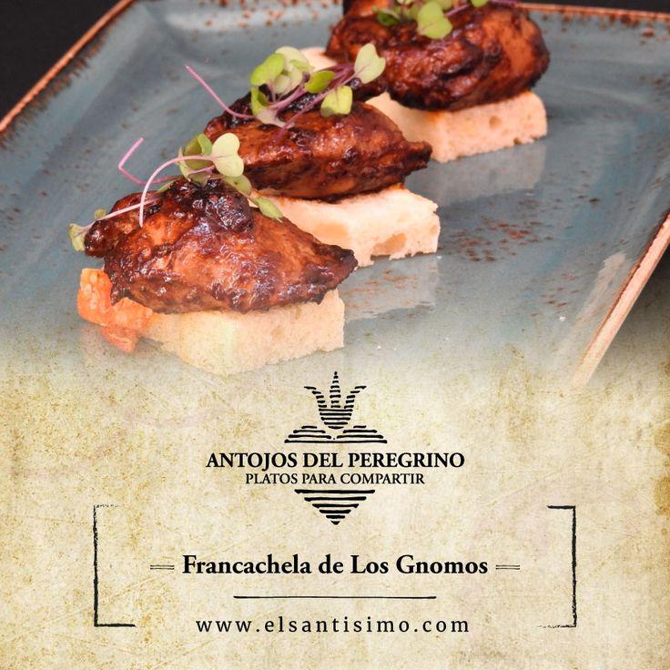 Los gnomos hacen francachela con salteado de higaditos de pollo en salsa de Obatalá, jerez y tostadas. #ElSantísimo #Cartagena #RestauranteEnCartagena