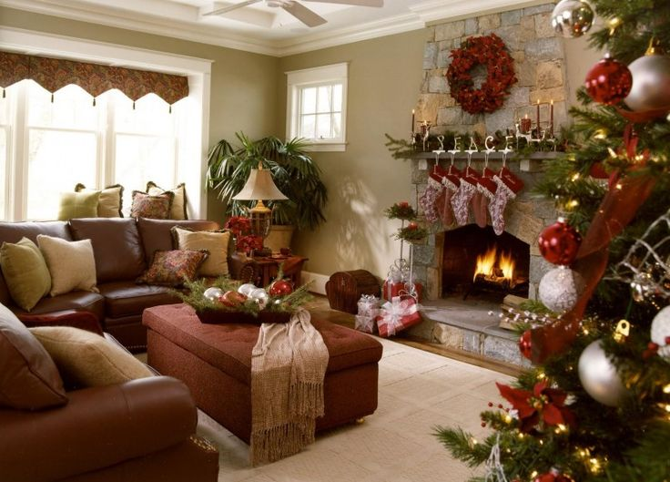 Decorating Ideas For Green Living Rooms Christmas Outside Decorating Ideas  Round Upholstered Ottoman Coffee Table 1600x1150