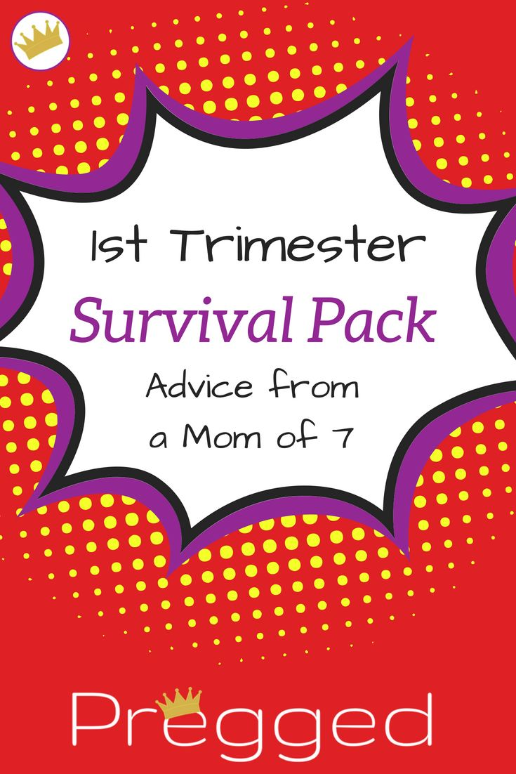 First-quarter survival kit by a 7-year-old mother! What do you really need for you …   – Pregnancy Tips