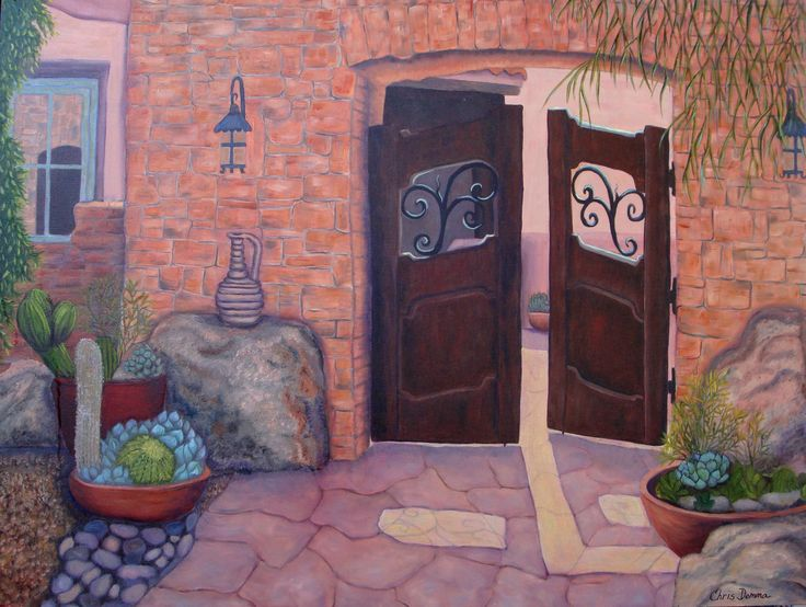 Welcome Home  oil  sold