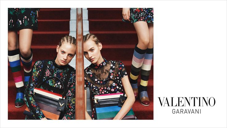The Essentialist - Fashion Advertising Updated Daily: Valentino Ad Campaign Fall/Winter 2015/2016
