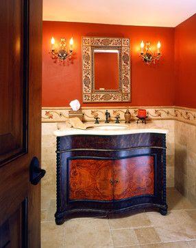 Danville,Ca. - Black Hawk - mediterranean - bathroom - san francisco - Castle Rock Construction