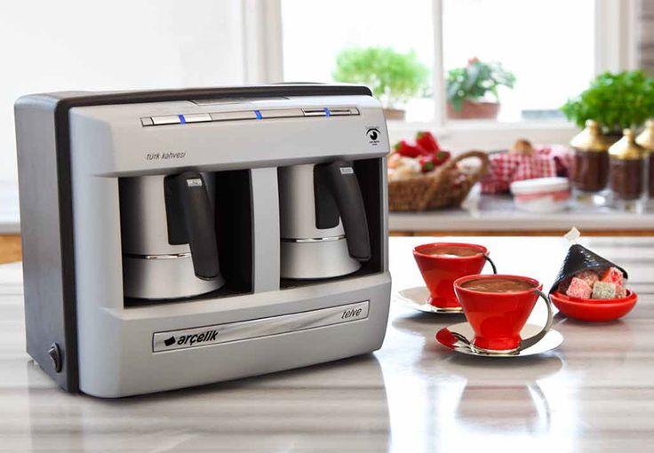 Arçelik K3190 P Telve Kahve Makinası :: taskiranmarketing