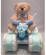 Tricycle Diaper Cake - Diaper Cakes