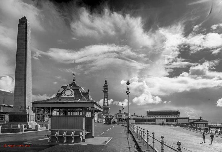 Blackpool Sky - Heavy weather over the coast