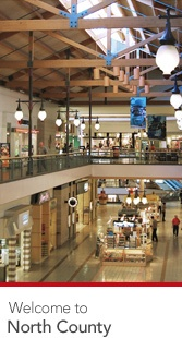 Westfield North County Concierge, Gift Cards and a wide range of other services available at Westfield North County.