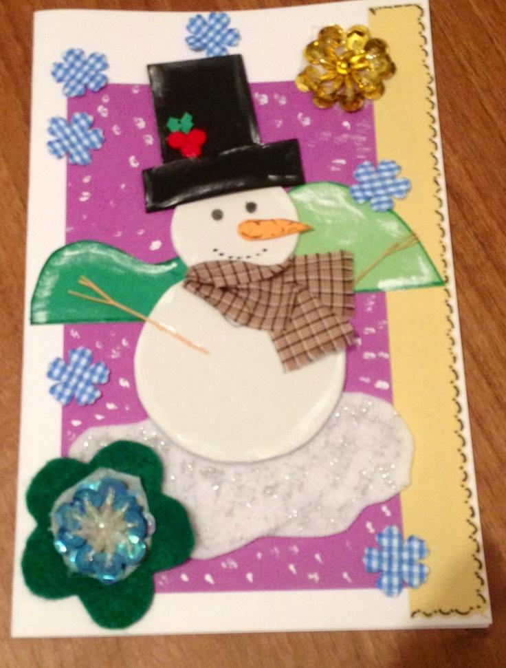 Tarjetas de navidad artesanales tarjetas pinterest - Tarjetas de navidad artesanales ...