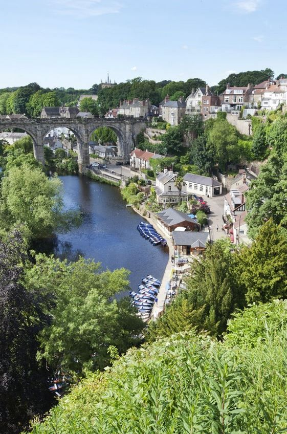 Knaresborough - A beautiful market town just a few miles from cosmopolitan Harrogate.  Take a boat out onto the River Ure before exploring the wonders of Mother Shipton's Cave