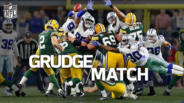 nice Aaron Rodgers vs. Dak Prescott | Packers vs. Cowboys 2016 Playoffs | Grudge Match | NFL Highlights