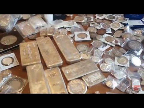 CSS 100 Days of Silver Stacking Day 56. Hundreds of ounces of silver & a...