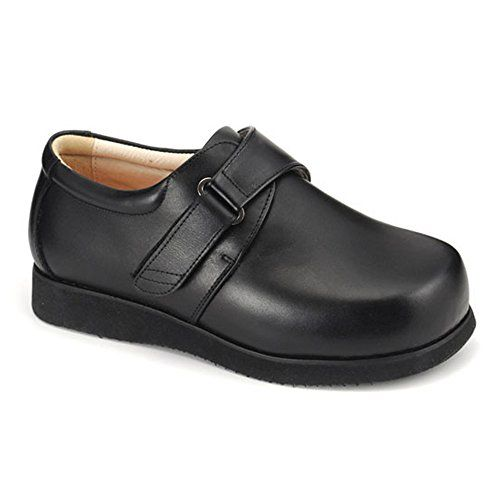 Apis Mt Emey 9106 Womens Therapeutic Extra Depth Shoe Black 10 Wide D Velcro * Click on the image for additional details.
