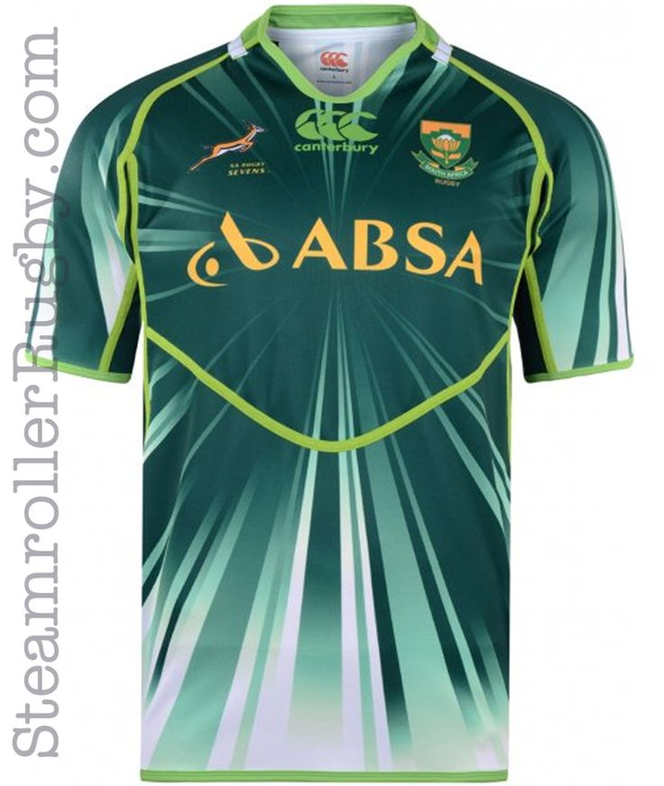 Steamroller Rugby Supply - CCC South Africa 7s Home Pro Jersey, $59.99 (http://www.steamrollerrugby.com/jerseys/ccc-south-africa-7s-home-pro-jersey/)