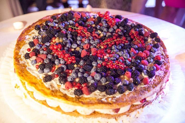 Millefoglie with mixed berries - Best Italian Wedding Cake Ever