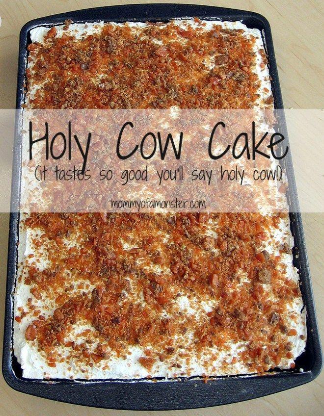 Recipe For Cow Poke Cake