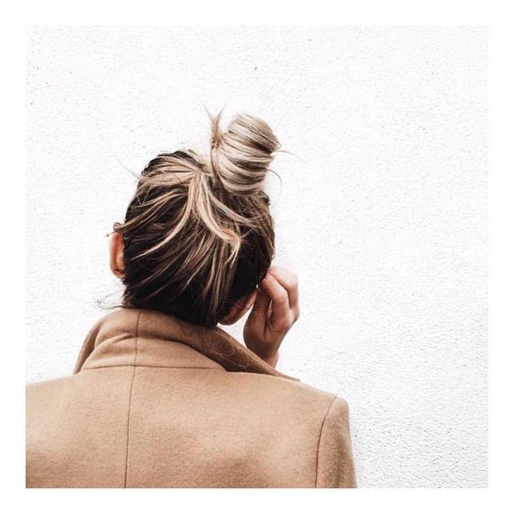 Hair crush! #topknot #bellamummabeauty #style #love