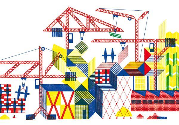 Stamp Art by Aurelien Debat
