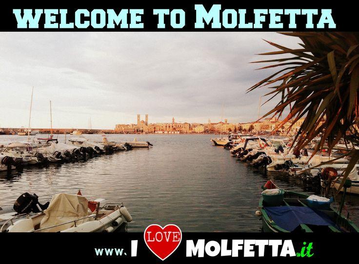 Molfetta: port, sea, boat, welcome  visit www.ilovemolfetta.it
