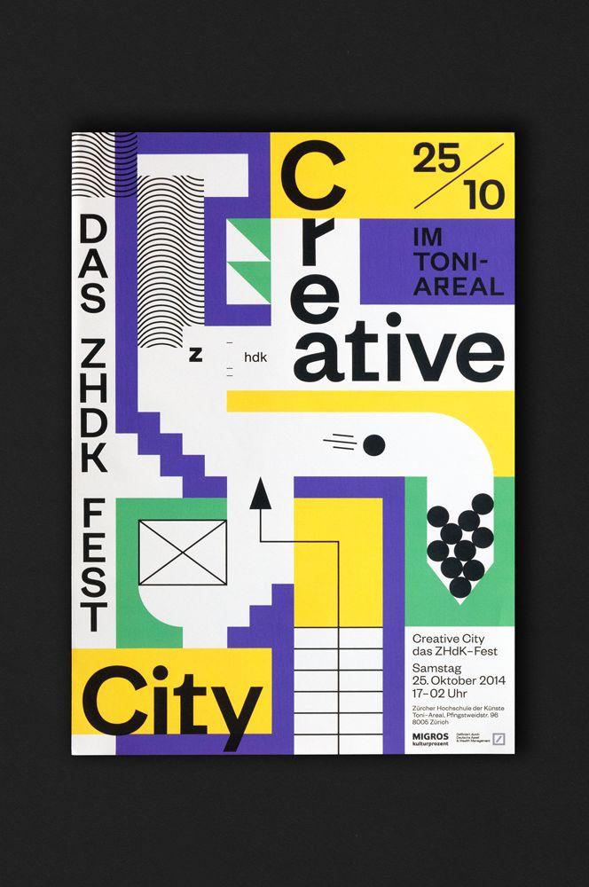 // Creative City Creative City Zurich Opening Ceremony visual design