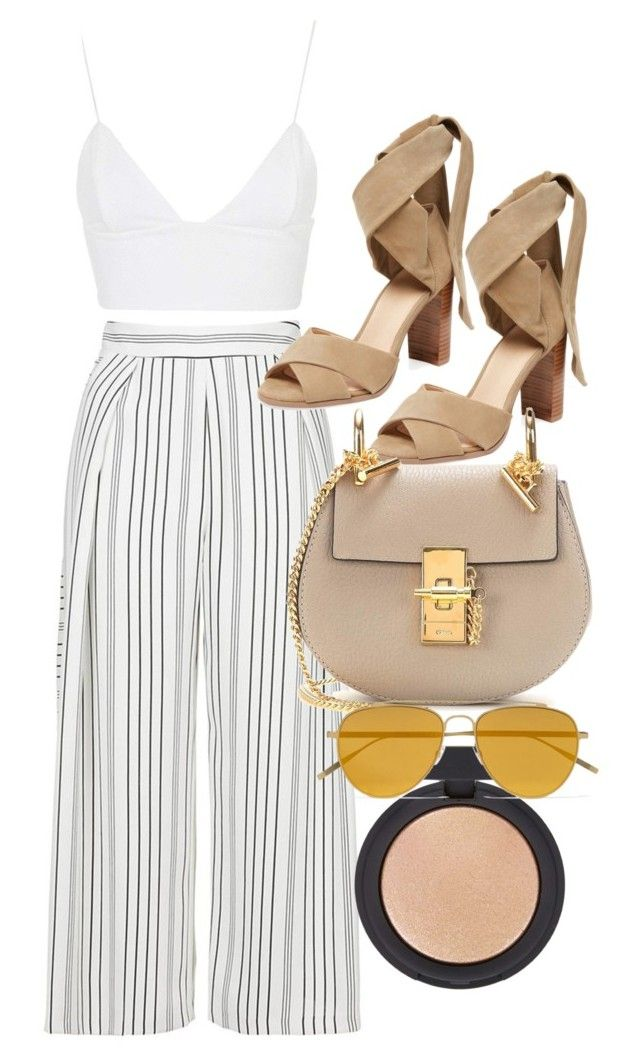 """""""Untitled #4739"""" by olivia-mr ❤ liked on Polyvore featuring Topshop, Rare London, Alex + Alex, Chloé and Tomas Maier"""