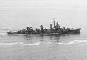 Ship- USS Fletcher (DD-445)- Fletcher-class destroyer