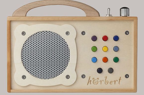 Vintage inspired MP3 player for kids... very cool