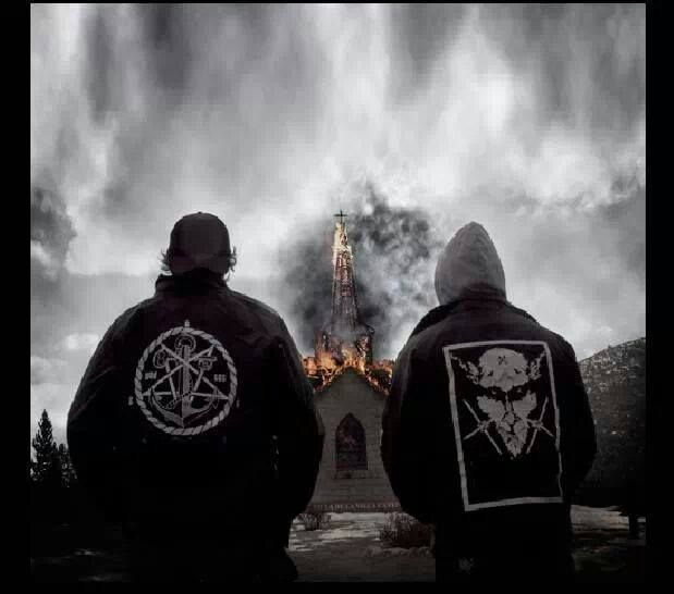 Let the church burning begin \m/