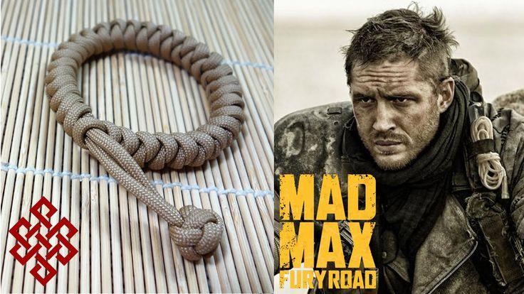 Mad Max Snake Knot Paracord Bracelet Tutorial