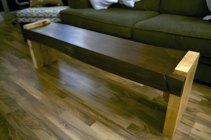 32 Best Images About Slab Wood Benches On Pinterest